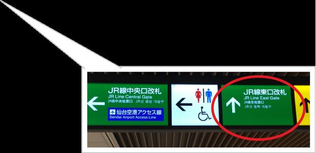 JR東日本改札